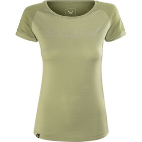 SALEWA Pedroc Delta Dry Kurzarm T-Shirt Damen oil green/5757